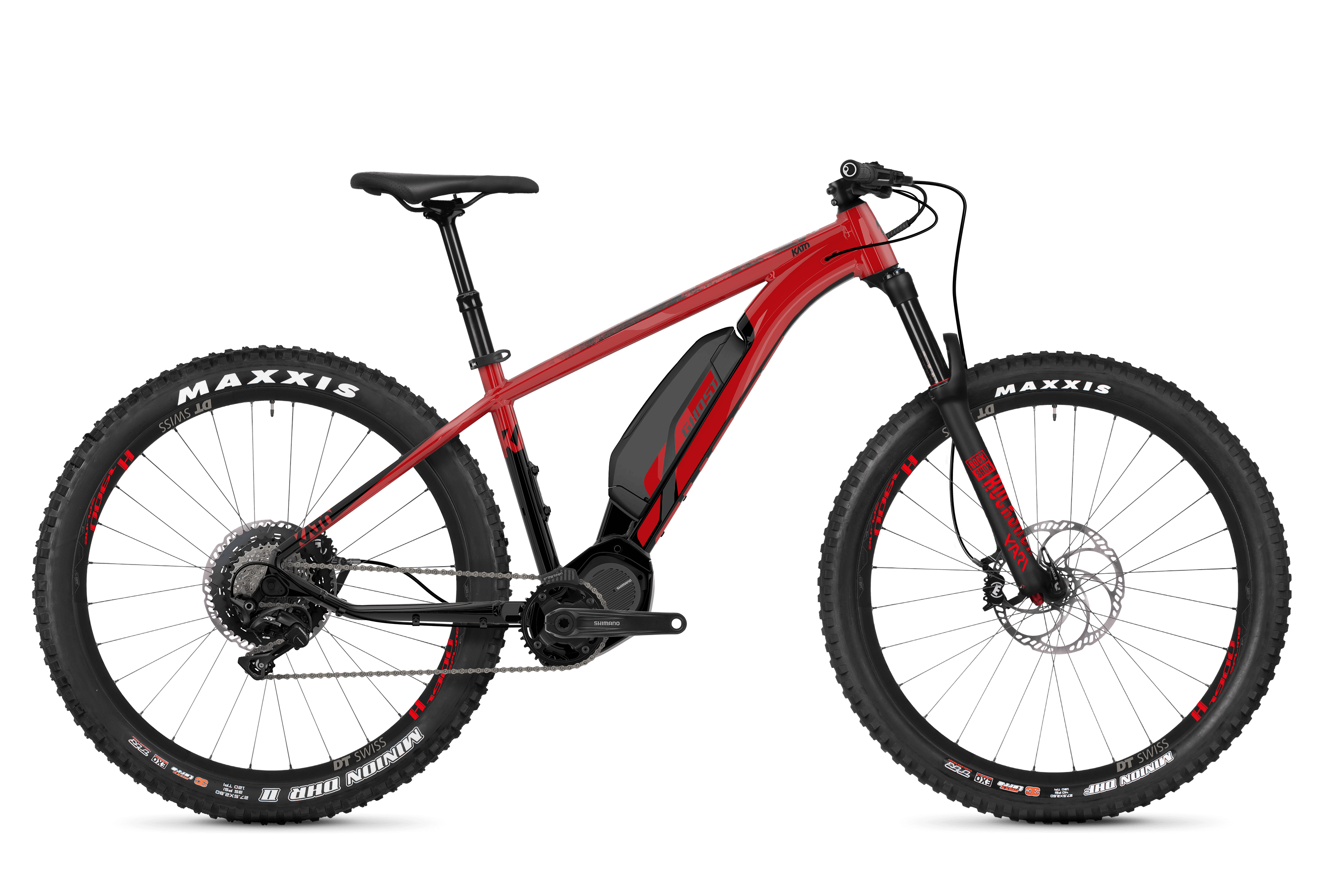 GHOST Ebike Kato S6.7+ - Red / Black