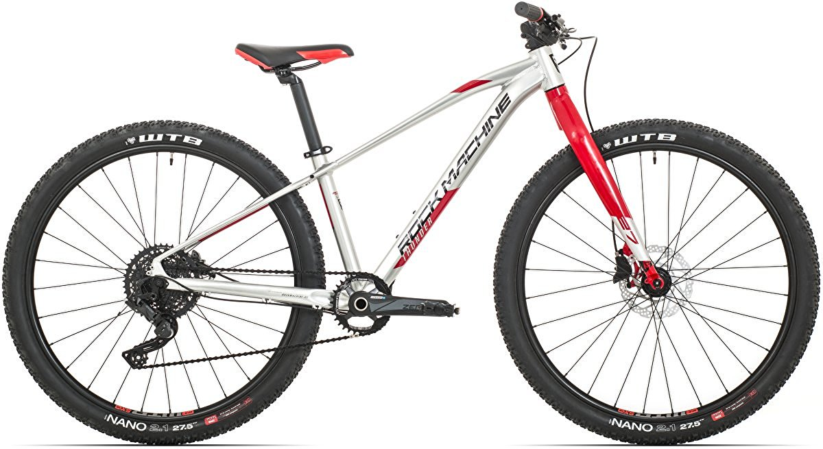 Rock Machine Thunder 27 HD LTD (XS) gloss silver/red/black