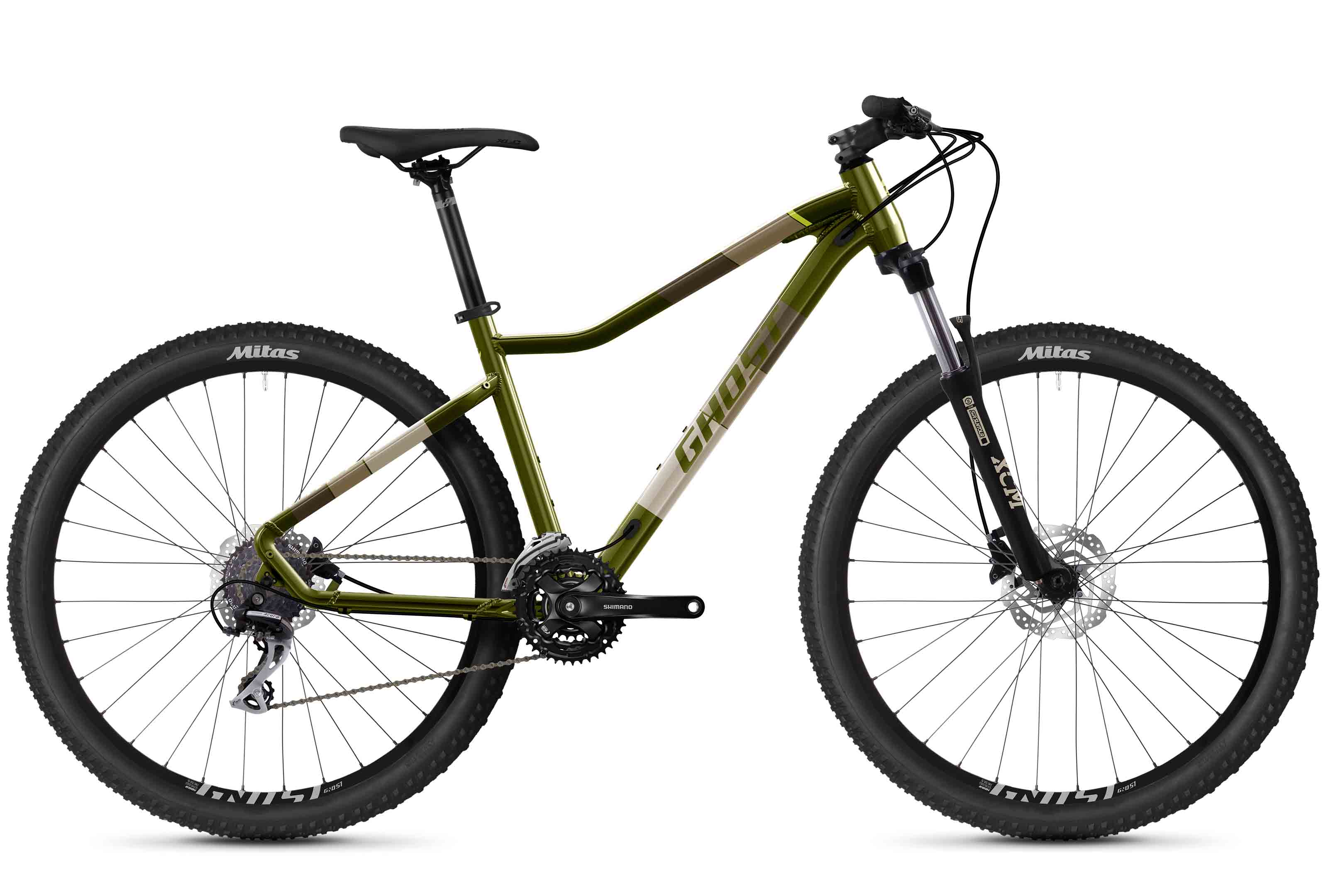 GHOST 2021  Lanao Essential 27.5 - Olive / Tan