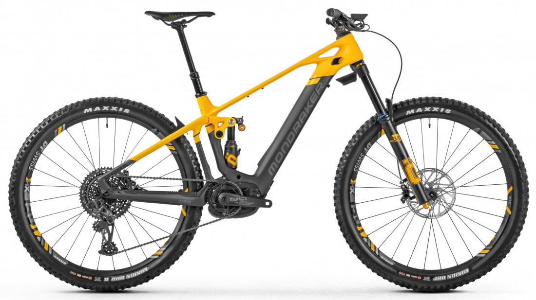 MONDRAKER Crafty Carbon XR, carbon/yellow/grey