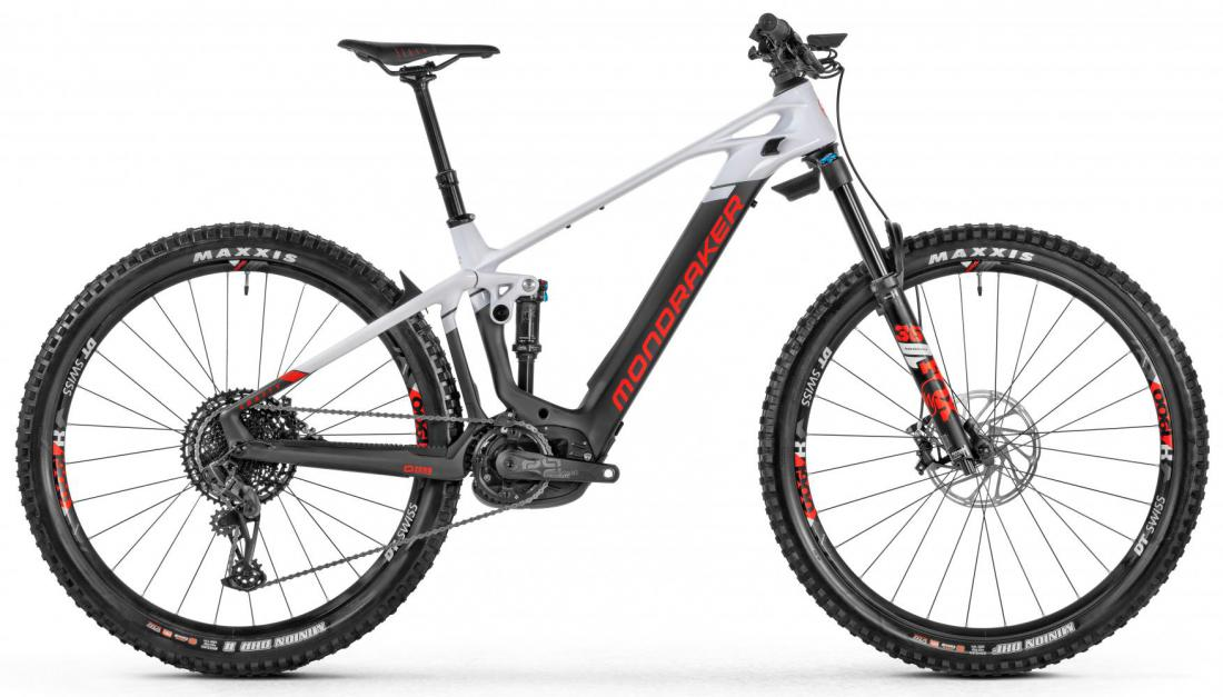 MONDRAKER Crafty Carbon R, carbon/white/red