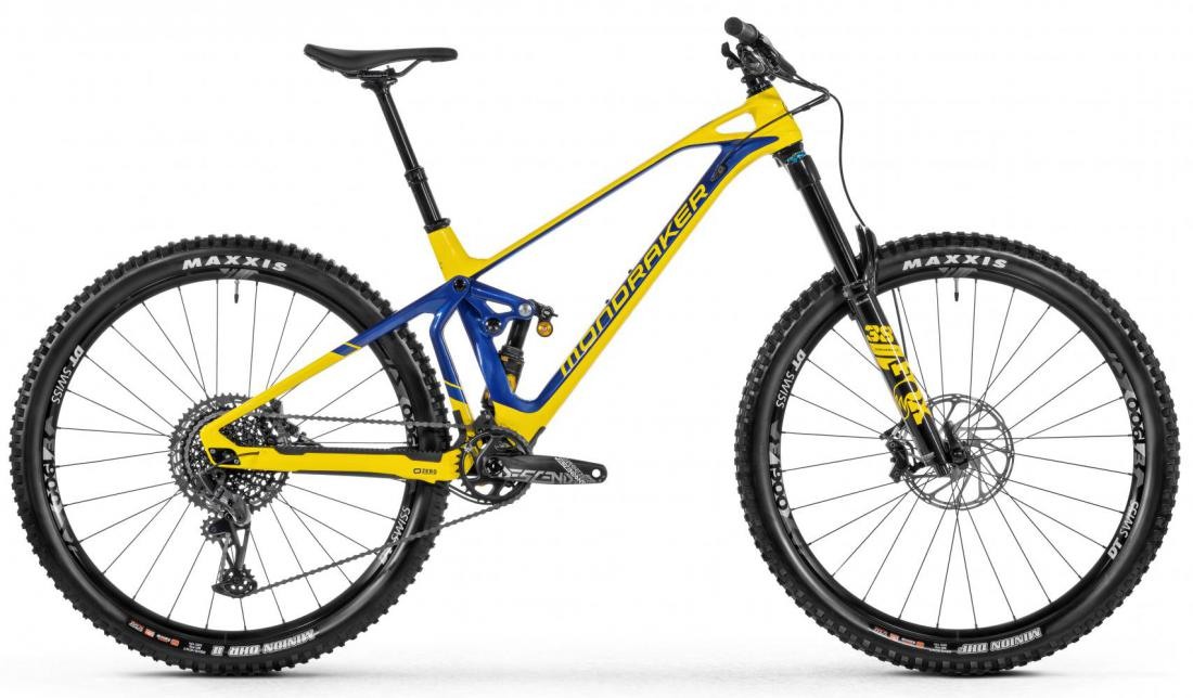 MONDRAKER Superfoxy Carbon R, yellow/blue
