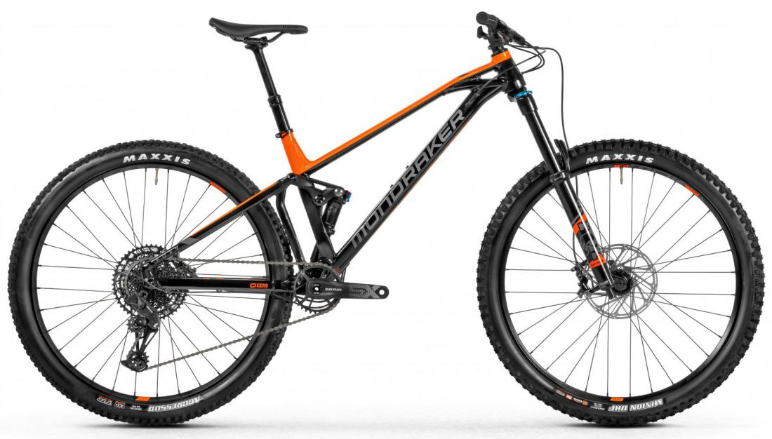MONDRAKER Foxy, black/orange/grey