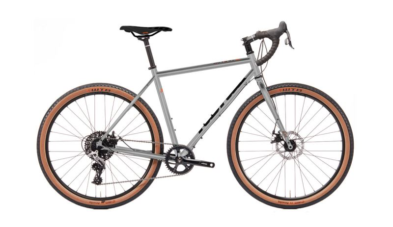 KONA Rove ST Gloss Faux Chrome w/ Black & Faux Orange Decals