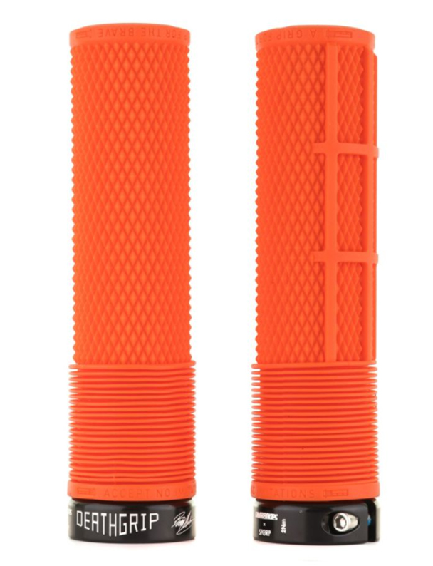 DMR BRENDOG DEATHGRIP NON FLANGE GRIPY ORANGE (THIN, SOFT)