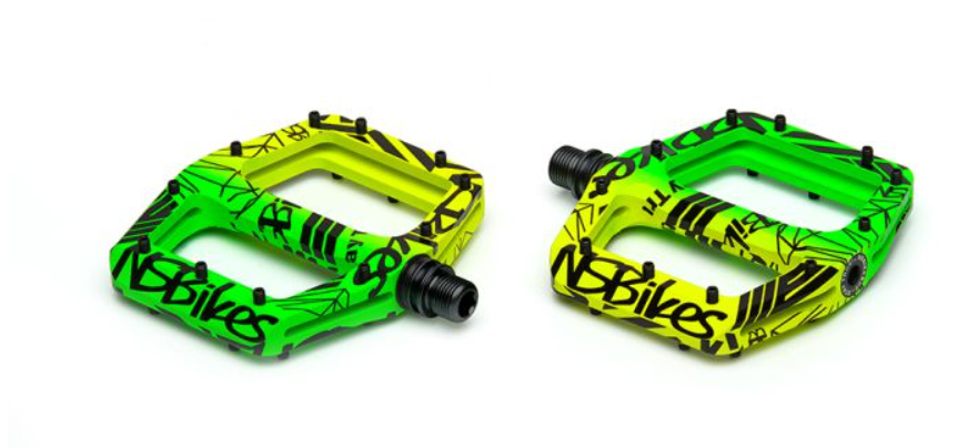 NS BIKES RADIANCE PEDÁLY LEMON LIME (JUNGLE)