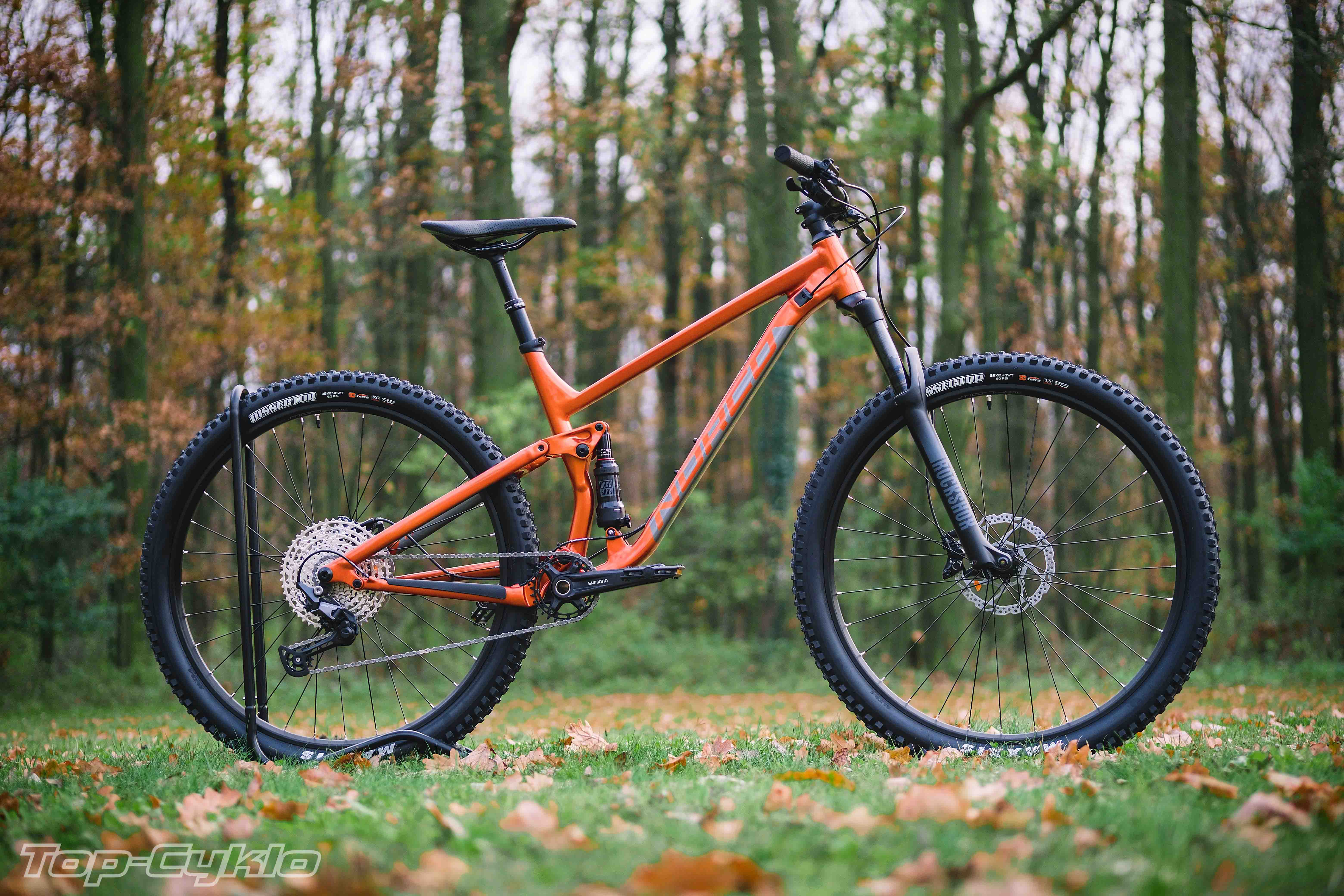 Norco Fluid FS 2 Orange/Charcoal 29