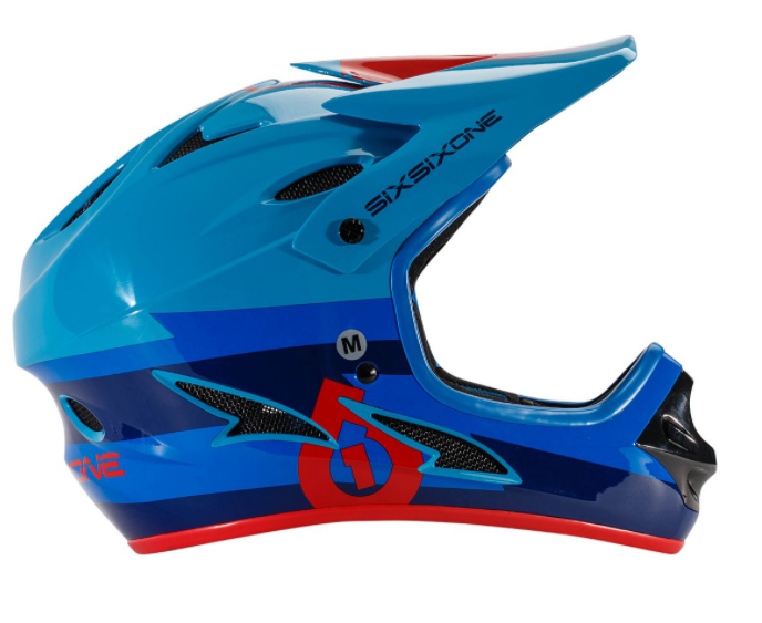 661 COMP II HELMA BOLT BLUE/RED (SIXSIXONE)