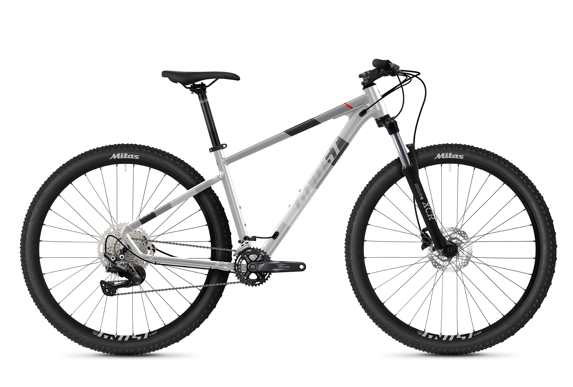 GHOST Kato Advanced 27.5 - Silver / Grey / Orange