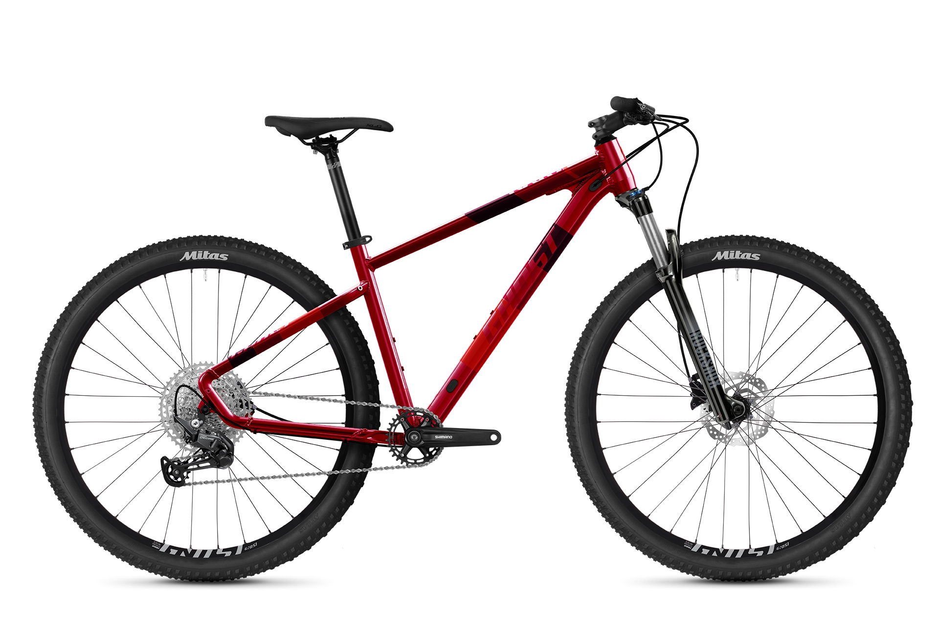 GHOST 2021  Kato Pro 27.5 - Red / Orange