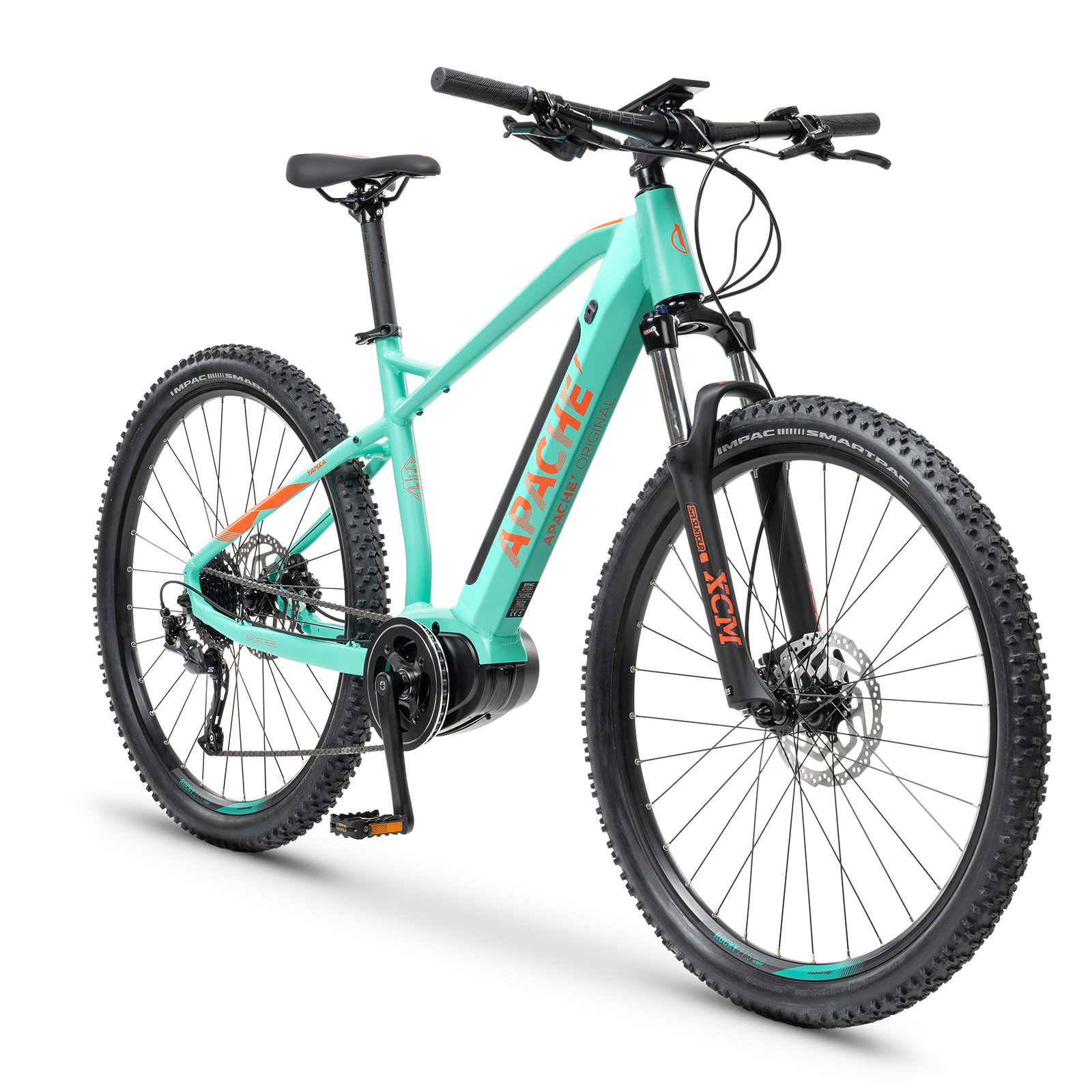 "Elektrokolo MTB 27,5"" Apache Yamka MX-I 3 G2 orange mint"