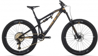 Rock Machine Blizzard LTD-27 black/Öhlins gold/dark grey