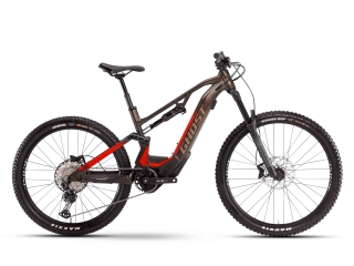 GHOST E-Bikes 2021  ASX Essential 130 B625 - Chocolate Brown / Riot Red