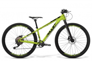 AMULET 27,5 Youngster carbon 1.10, green fluo matt/black matt, 2021