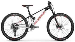 MONDRAKER Factor 26, silver/red/black, 2021