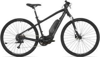 Rock Machine CrossRide e400 mat black/silver/dark grey