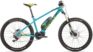"Rock Machine Blizz e50-27+ 21"" petrol blue/radioactive yellow/black"