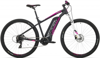Rock Machine Catherine e60-29 504 Wh mat black/silver/pink