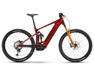GHOST E-Bikes 2021  E-Riot Trail CF Pro B625 - Dark Red / Orange