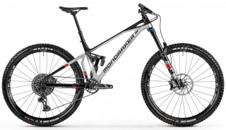 MONDRAKER Superfoxy R, silver/black/red